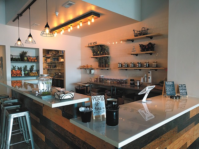 The new juice spot offers a diverse menu of healthy options. - CHEY SCOTT