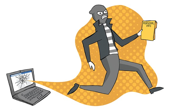 Taking back your Facebook account from hackers is no easy task. - JESSIE HYNES ILLUSTRATION