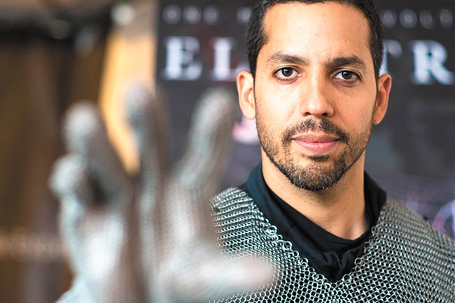 """Says David Blaine: """"I'm not athletic by birth, but I am by choice and by practice."""""""