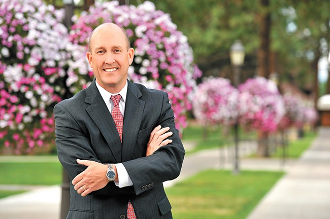 "Whitworth University President Beck Taylor says ""Leading a university is not a popularity contest."""