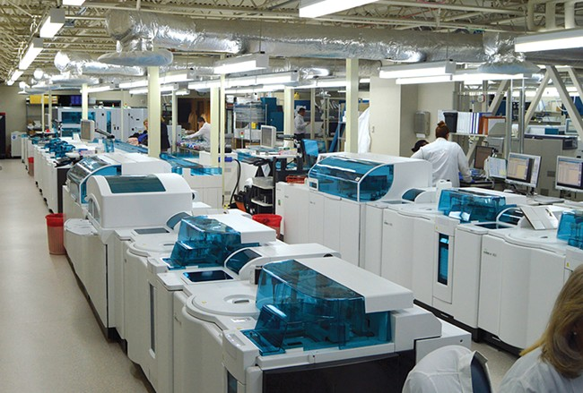 PAML's new automated testing line