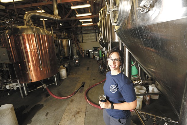 Rachel Nalley took over as Orlison's head brewer about a year ago. - YOUNG KWAK