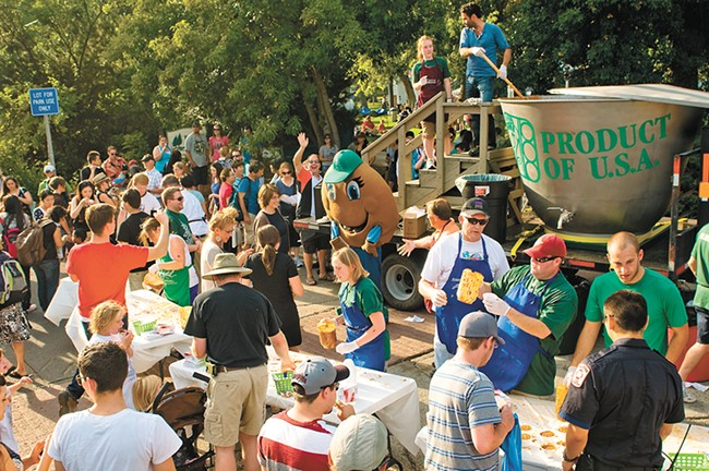 The National Lentil Festival runs Aug. 18-19 in Pullman.
