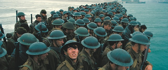 Dunkirk, a World War II epic, hits the big screen on July 21.