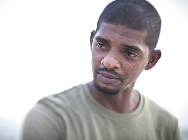 Suleiman Abdullah Salim, one of the plaintiffs, suffers from depression and post-traumatic stress after he was held without charges for years and tortured. - ACLU PHOTO