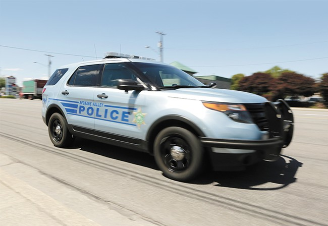 """Spokane Valley councilmembers want to make sure all police cars say """"Spokane Valley Police."""" - YOUNG KWAK"""