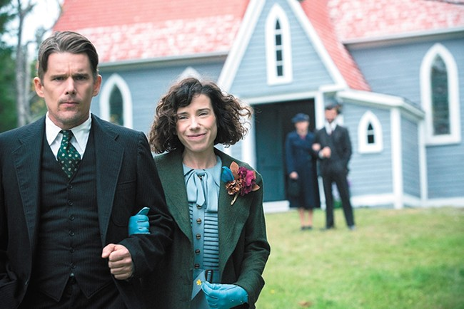 Ethan Hawke and Sally Hawkins in Maudie.