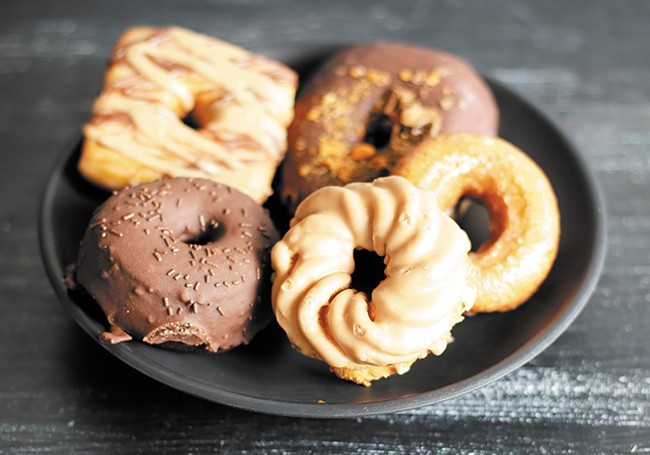 An array of treats from Casual Friday Donuts - YOUNG KWAK