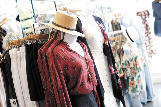 Summer fashion on display at Tiffany Blue - YOUNG KWAK