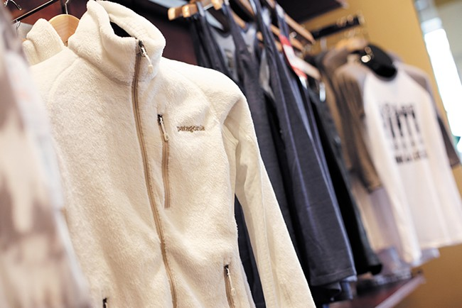 Patagonia fleece at Escape Outdoors - YOUNG KWAK