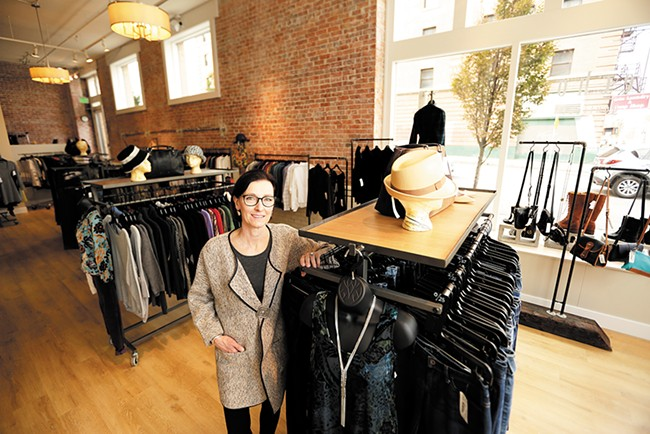 Suzy Gage, owner of Echo Boutique - YOUNG KWAK