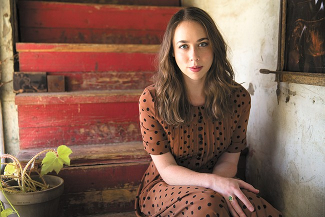 Fresh off a couple of Grammy wins, singer-songwriter Sarah Jarosz hits the Bartlett on Saturday. - SCOTT SIMONTACCHI PHOTO