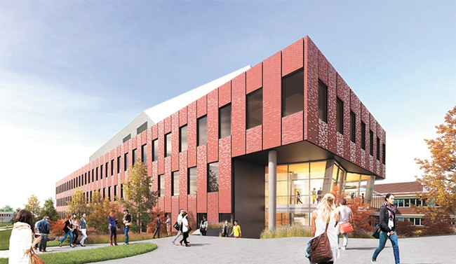 Eastern Washington University is waiting on $67 million to build its new Interdisciplinary Science Center.
