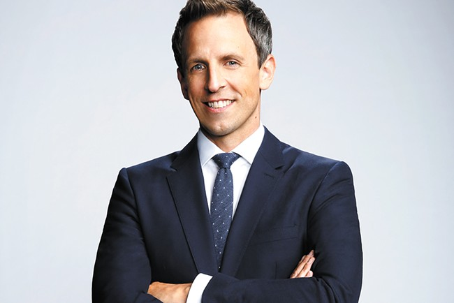 Seth Meyers headlines a show in Pullman on Friday.