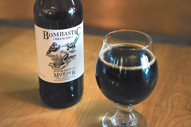 Aggravated Murder Imperial Stout is available for online ordering until Saturday. - DEREK HARRISON