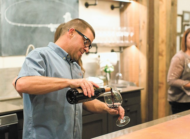 Castaway Cellars pours eight signature wines at its Coeur d'Alene tasting room.