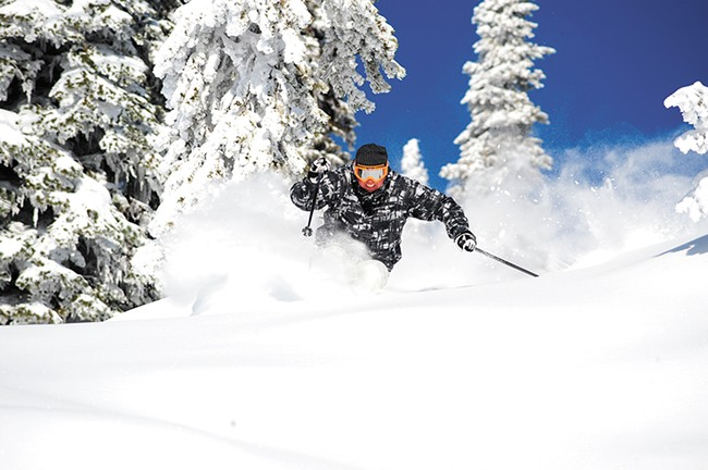 British Columbia's Big White Ski Resort. - BIG WHITE SKI RESORT