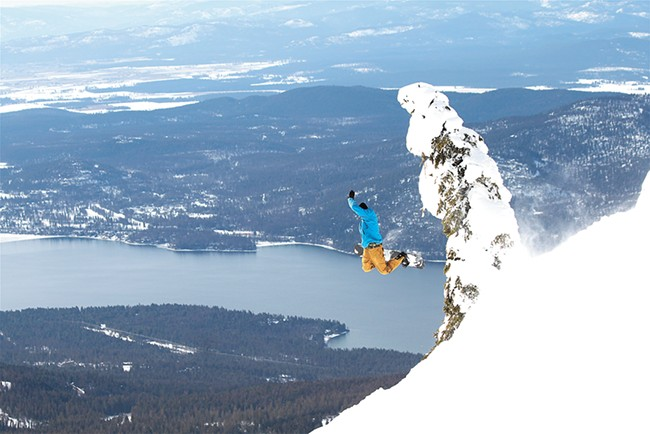 "Montana's Whitefish is known among locals as ""The Big."" - WHITEFISH MOUNTAIN RESORT"