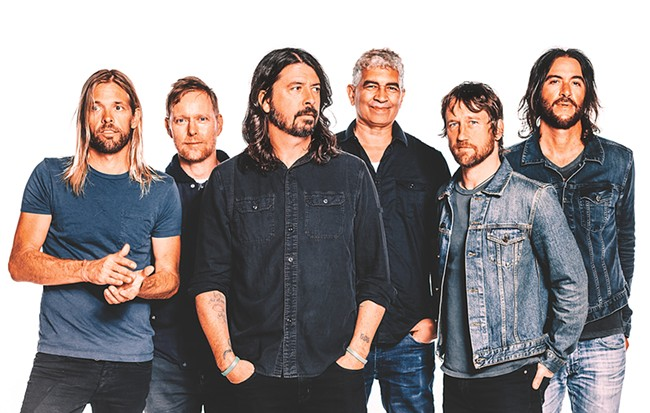 Dave Grohl may have risen to fame as one of rock's best drummers, but his time with Foo Fighters proves he was born to be a frontman.