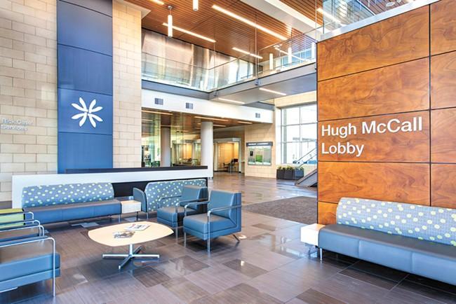 The North Idaho facility continued its upgrades in 2017. - KOOTENAI HEALTH PHOTO