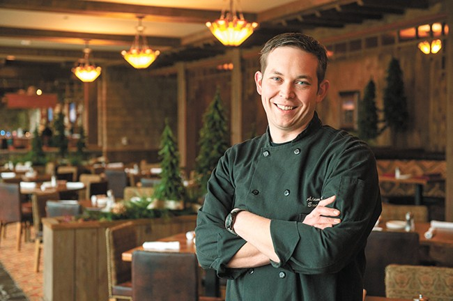 Chef and restaurateur Adam Hegsted