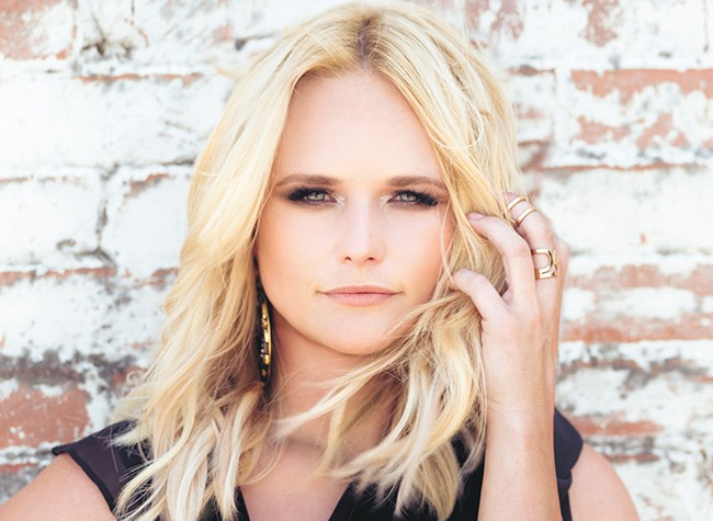 Country star Miranda Lambert, at the Arena on Feb. 2, is one of the big names coming through Spokane in the early months of 2018.