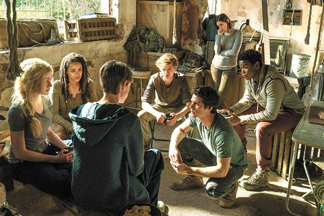 If you've felt deprived of generic YA action heroes lately, you're in luck: There's a third Maze Runner movie.