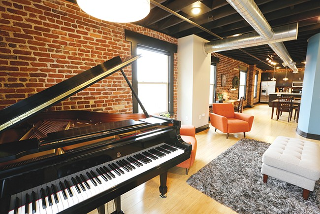 Gonzaga's choir director by day, Tim Westerhaus has even installed a grand piano in his new condo. - YOUNG KWAK