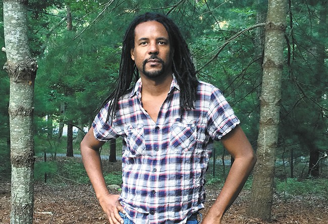 Author Colson Whitehead visits the Palouse Feb. 12. - MADELEINE WHITEHEAD PHOTO
