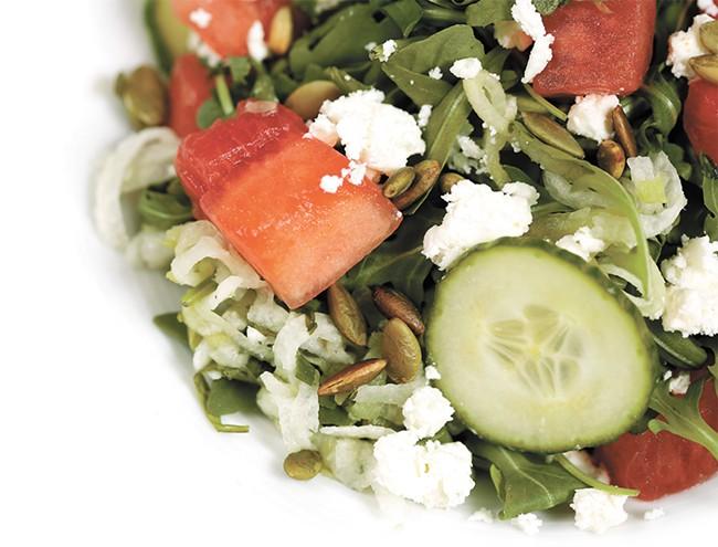 Tortilla Union's watermelon salad