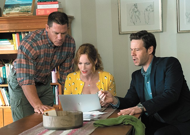 John Cena, Leslie Mann and Ike Barinholtz are the world's nosiest parents in Blockers.