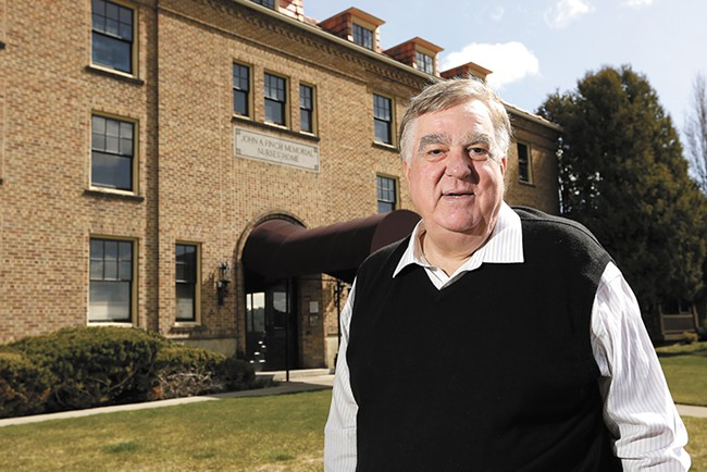 Developer Ron Wells turned apartment units in Finch Hall into condominium units —but it's a lot more difficult to build condos from scratch. - YOUNG KWAK