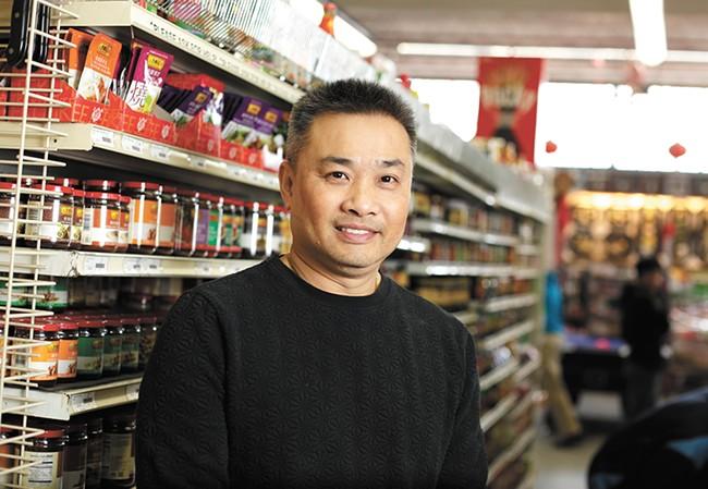 Owner Van Chiu. - YOUNG KWAK