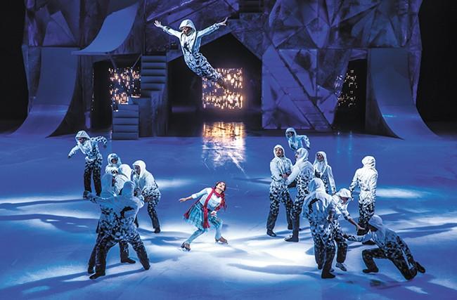 Cirque Du Soleil creates a whole new miracle on ice. - MATT BEARD