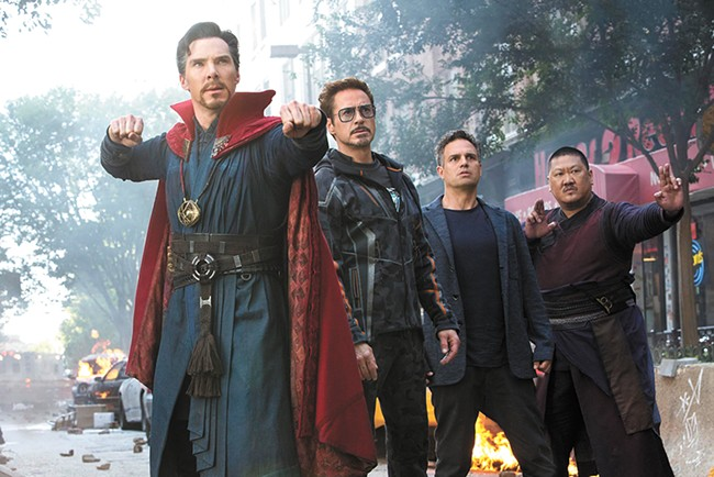 To Infinity and beyond: The latest (and biggest) Avengers film gives Marvel die-hards plenty to chew on.