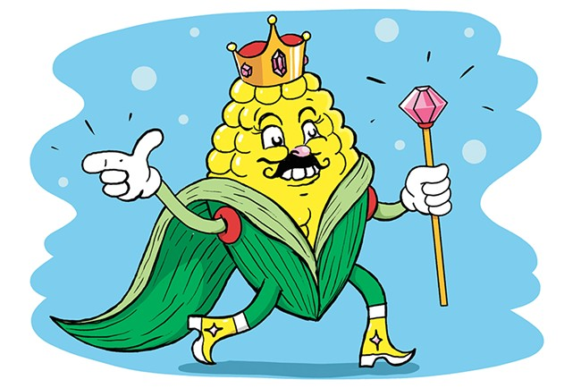 King Corn - CALEB WALSH ILLUSTRATION