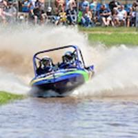 Sprint Boat Racing at Webb's Slough