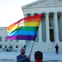 What does the Supreme Court's ruling on same-sex marriage discrimination mean for a Washington florist?