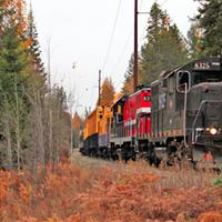 Scenic Pend Oreille Train Rides