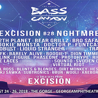 Bass Canyon Festival feat. Excision B2B NGHTMRE, 12th Planet, Barely Alive, Bear Grillz and more