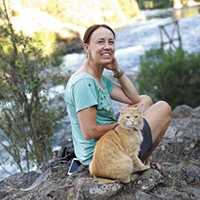 Meet two nature-loving cats living in Spokane who've become stars of the #adventurecat world