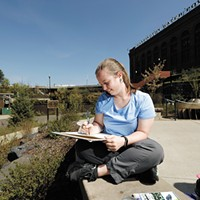 Megan Perkins set out to paint a Spokane scene once a week for a year for her <i>Artist's Eye on Spokane</i> series