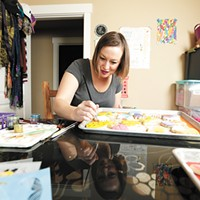 Electric Sugar Cookie owner Amber Fenton bakes delightfully bright and whimsical sugar cookies