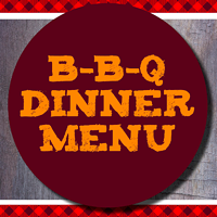 Barbecue Dinner Menu