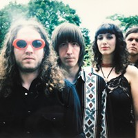 Blending fuzzy garage rock with bright surf sounds, the Shivas put dark lyrics to bouncy melodies
