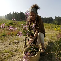 Aubrey Mundell shares her passion for harvesting wild, edible plants through Wandering Lemurian Herbs