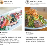 <i>Inlander</i> picks for local restaurants you need to follow on Instagram (and eat at, too)