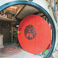 "A Spokane man's Tolkien-inspired ""Hobbit House"" is drawing curious visitors from across the region"
