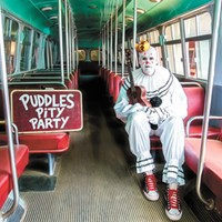 No joke: Puddles the Clown has serious pipes, and great taste in cover songs