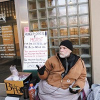 Spokane's sit-and-lie law drawing new attention and protesters